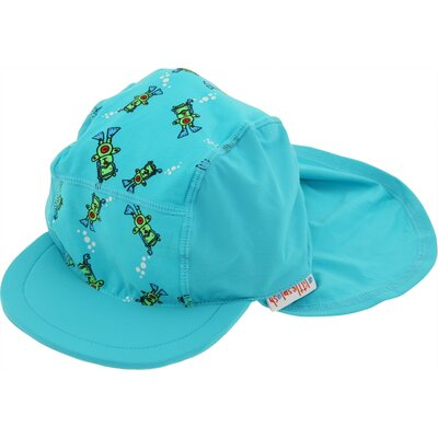 A Little Splash Nylon / Spandex Hat in Scuba Bear Print
