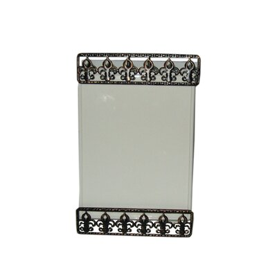 Home Essentials Press Metal Ceramic Memo Board