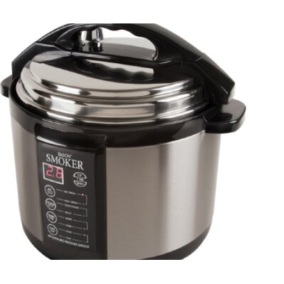 Emson Electric 5-Quart Pressure Smoker Cooker