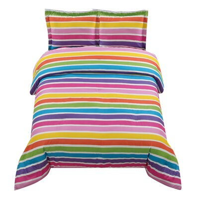 Lollipop Rainbow Comforter Set
