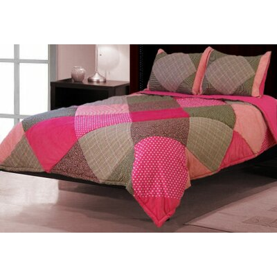 Pretty in Pink 3 Piece Comforter Set