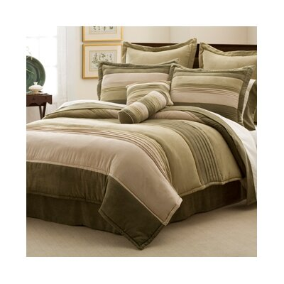 Lifestyles Peyton Place 4 Piece Comforter Set