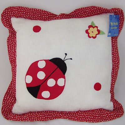 My World Lady Bug Yard Pillow