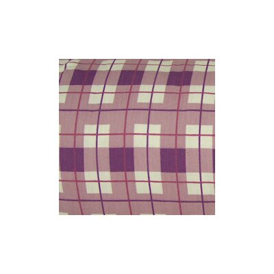 My World Check and Plaid Curtain Valance