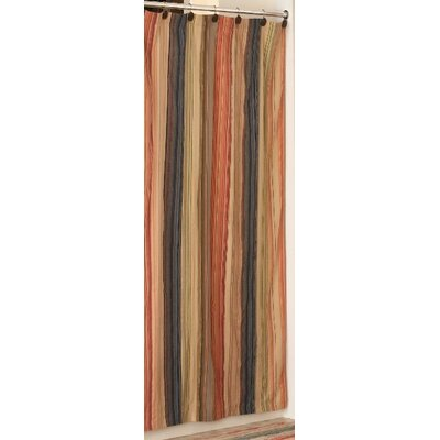 Retro Chic Bath Cotton Shower Curtain & Reviews