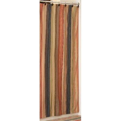 Retro Chic Bath Cotton Shower Curtain Amp Reviews