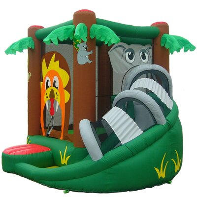 Safari Inflatable Bounce House