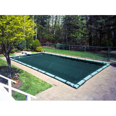 Robelle Supreme Plus Winter Pool Cover with Complete Water Tube Kit