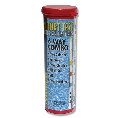 Poolmaster Smart Test Six Way Combo Test Strips