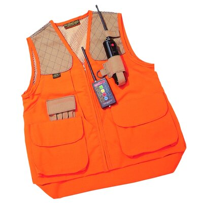Boyt Harness Co. Left Handed Gun Dog Vest in Orange
