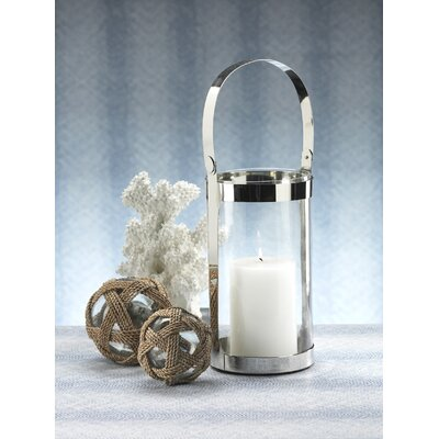 Barclay Butera Lifestyle Seaside Cylinder Shaped Lantern