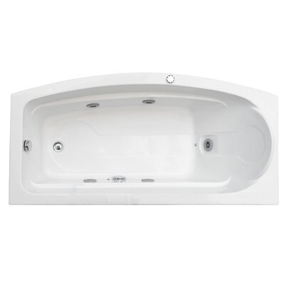 "Aston Global 68"" Whirlpool Bath Tub in White"