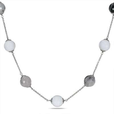 Amour Endless Necklace with Silver Chain