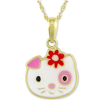 Amour Singapore-chain Kitty Pendant