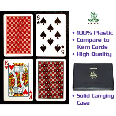 Copag Cards Poker Size Regular Index Master Design Setup