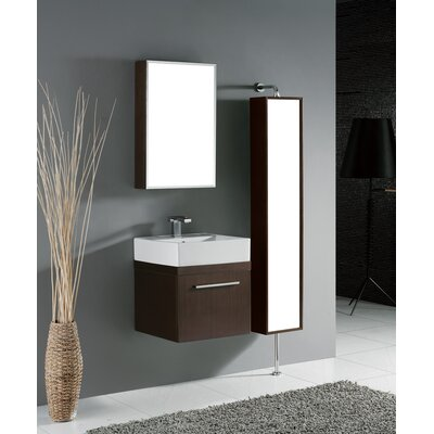 "Madeli Arezzo 20.06"" Wall Mounted Bathroom Vanity Set"