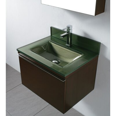 "Madeli Venasca 24"" Double Wall Mount Bathroom Vanity Set"