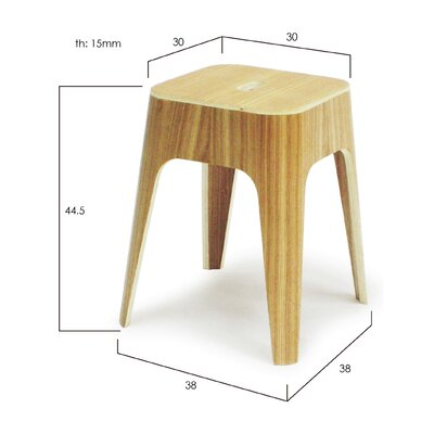 Orange22 Minimal Stacking Stool (Set of 2)