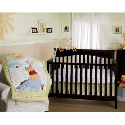 Playful Pooh Crib Bedding Collection