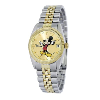 "Disney Womens ""Mickey Mouse"" Bracelet Watch"