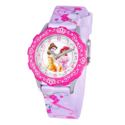 Girls Tween Glitz Princess Time Teacher Watch