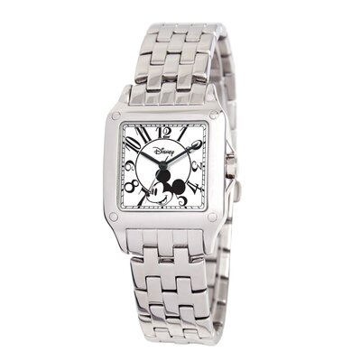 Women's Mickey Mouse Perfect Square Bracelet Watch