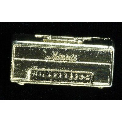 Harmony Jewelry 1959 SLP Vintage Marshall Head Amp Vintage Pin in Gold