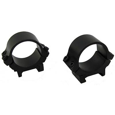 30mm Scope Rings in Matte Black