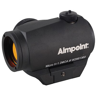 Micro H-1 2 MOA Red Dot Scope with Standard Mount
