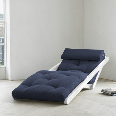 Fresh Futon Fresh Futon Figo with White Frame in Navy