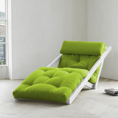 Fresh Futon Fresh Futon Figo with White Frame in Lime