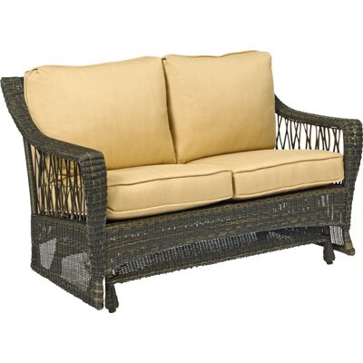 Woodard Serengeti Gliding Loveseat