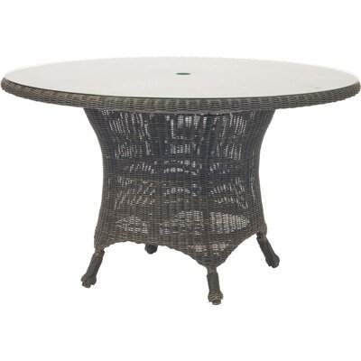 Woodard Serengeti Round Umbrella Dining Table