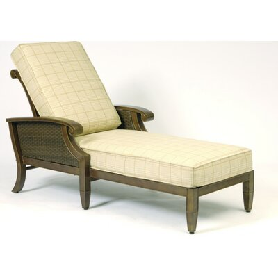 Woodard Del Cristo Adjustable Chaise Lounge Cushion