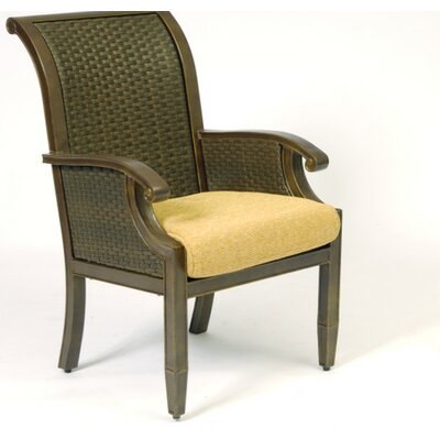Woodard Del Cristo Dining Arm Chair Cushion
