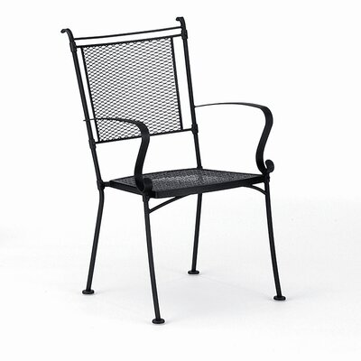 Woodard Bradford Stacking Dining Arm Chair