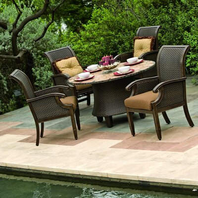 Woodard Del Cristo 5 Piece Dining Set
