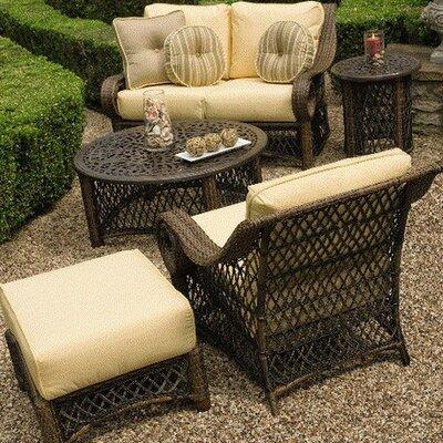 Woodard Belmar Deep Seating Group with Cushions