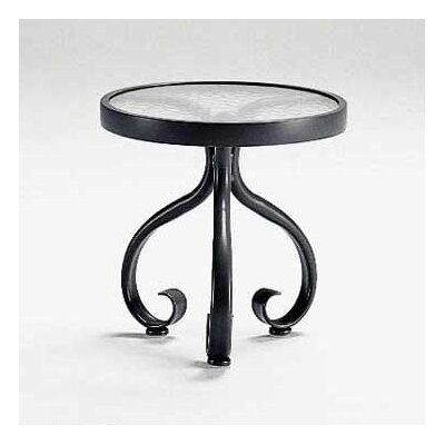 Woodard Ramsgate Acrylic Top Occasional Side Table