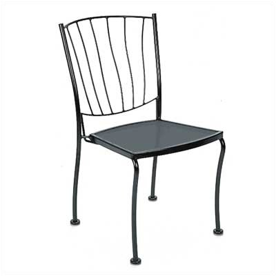 Woodard Aurora Stacking Dining Side Chair