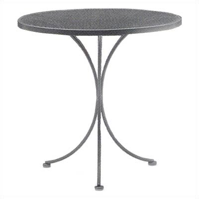 Woodard Mesh Top Bistro Table