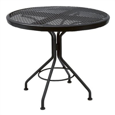 Woodard Mesh Top Contract Round Bistro Table