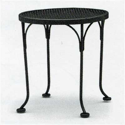 Woodard Briarwood Round Occasional Side Table