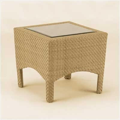 Woodard Trinidad Wicker End Table