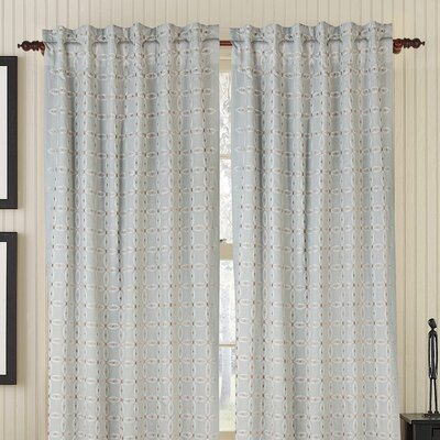 Gracious Living Gash Rod Pocket Drape Single Panel