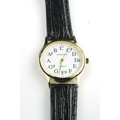 The Chromatic Watch Company Women's Circle of Fourths Watch in Black