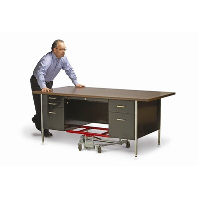 "Raymond Products Mighty King Desk Lift 2.5"" Casters 16"" x 32"" Frame"
