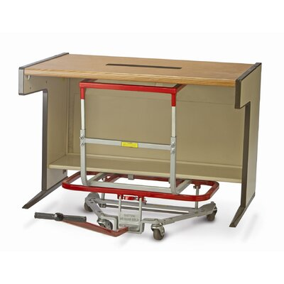 "Raymond Products Mighty King Desk Lift 2.5"" Casters 16"" x 46"" Frame"