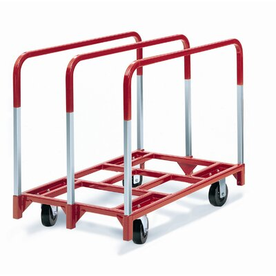 "Raymond Products Panel Mover 5"" Phenolic Casters, 2 Fixed and 2 Swivel, 3 Standard Uprights"