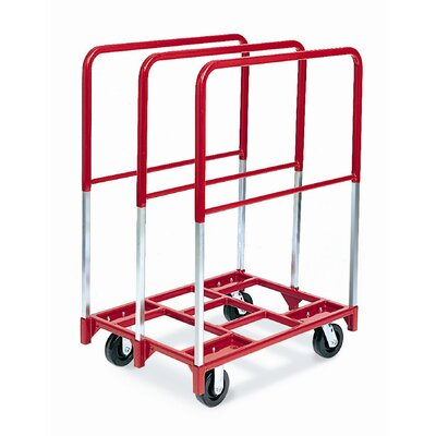 "Raymond Products Panel Mover 5"" Phenolic Casters, 2 Fixed and 2 Swivel, 3 Extra Tall Uprights"